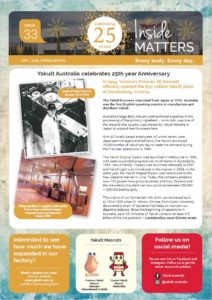Inside Matters Issue 33 front page